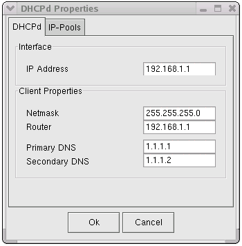 InJoy Firewall - DHCP Server